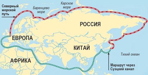 Южно-Китайском море расположены крупные торговые пути