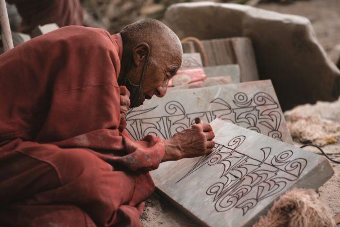 Жизнь тибетских монахов