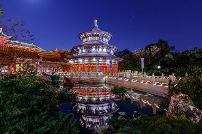 храм неба китай