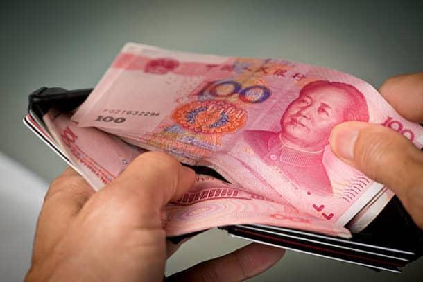 из Китая перевести деньги в Россию