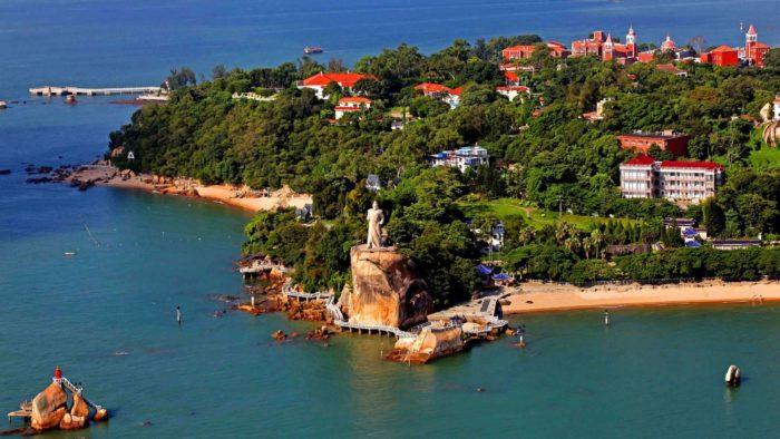 остров Гуланью (Gulangyu)