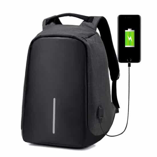 рюкзак, но с подзарядкой и цифровым замком