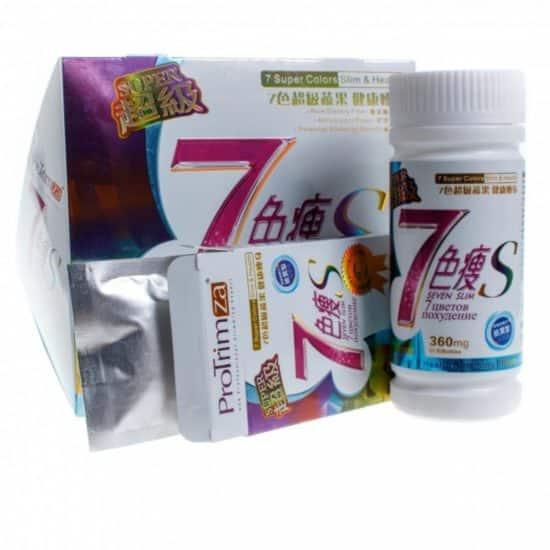 7 цветов похудения
