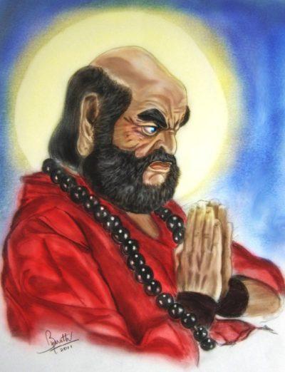 Бодхидхарма.