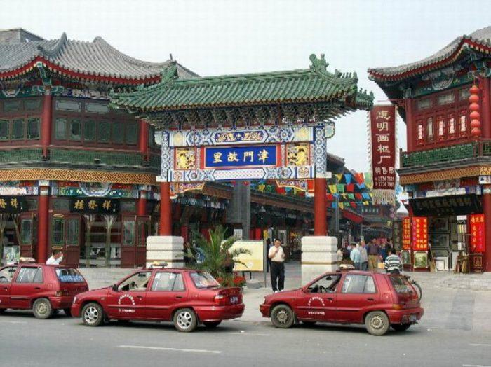 Древняя культурно-историческая улица (Cultural street) в Тяньцзине