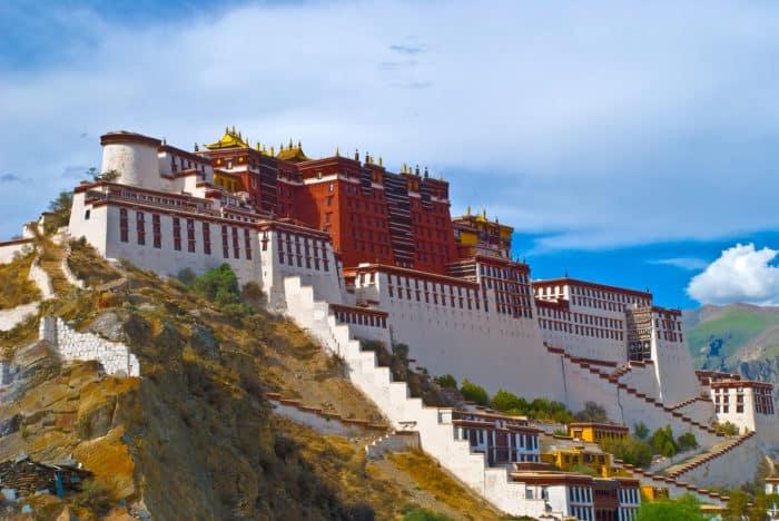 Дворец Потала в Лхасе. Резиденция Далай-Ламы