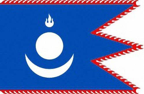Флаг династии Юань с 1271 по 1368 годы