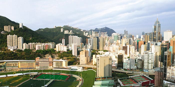 Главный ипподром Гонконга — Хэппи Вэлли.