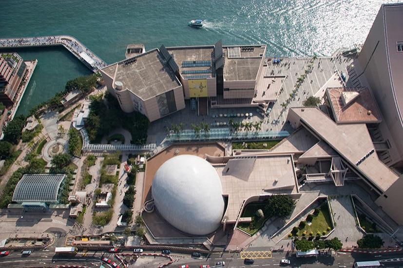 Обязательно к посещению! Знаменитый планетарий Гонконга.