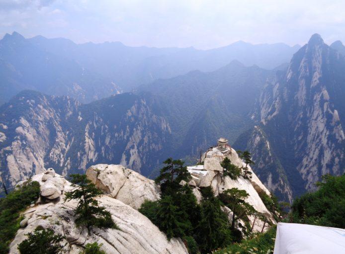 Гора Хуашань Китай - Тропа Смерти