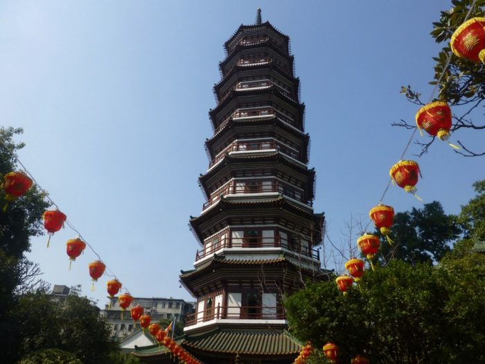 Храм 6 деревьев баньяна