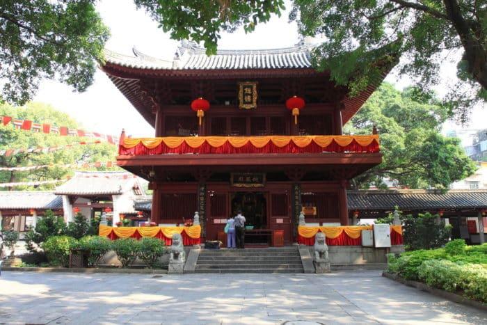 Храм Гуансяо