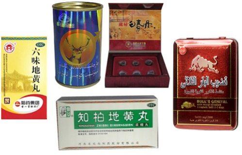 Китайские препараты для повышения потенции у мужчин