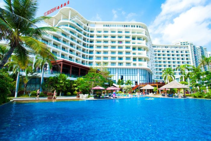 Linda Seaview hotel 4 звезды Хайнань