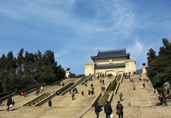 Мавзолей Сунь Ятсена (Чжуншаньлин)