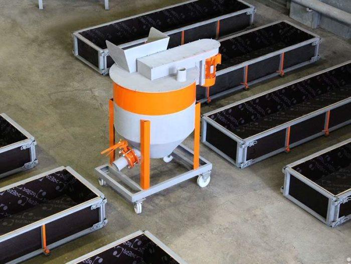 Мини-автомат по производству газосиликатных блоков (от 13 тысяч долларов)