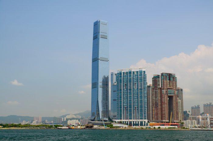 Небоскреб Жемчужина Гонконг