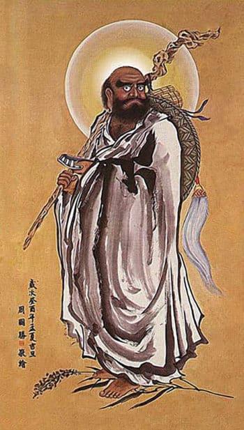 Основатель Шаолинь Бодхидхарма (Дамо)