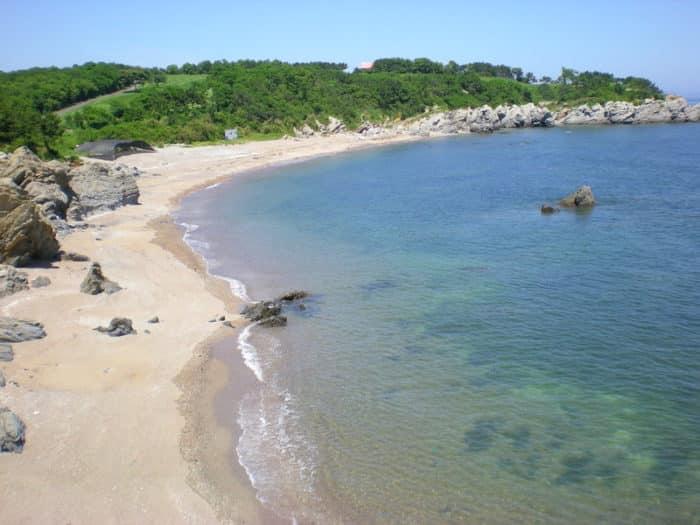 Пляж Бухта каменного причала