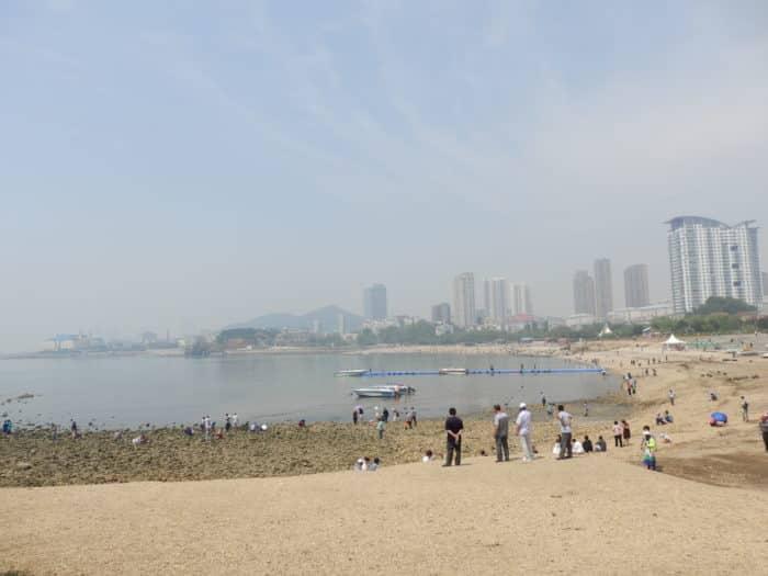 Пляж Синхай (море звезд)