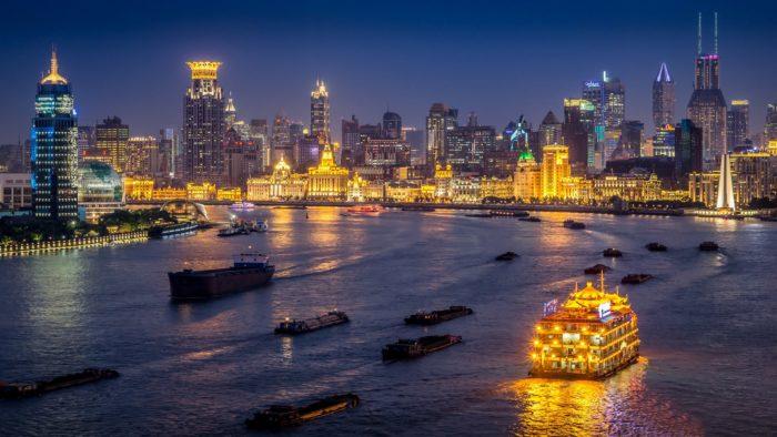 Река в Шанхайе