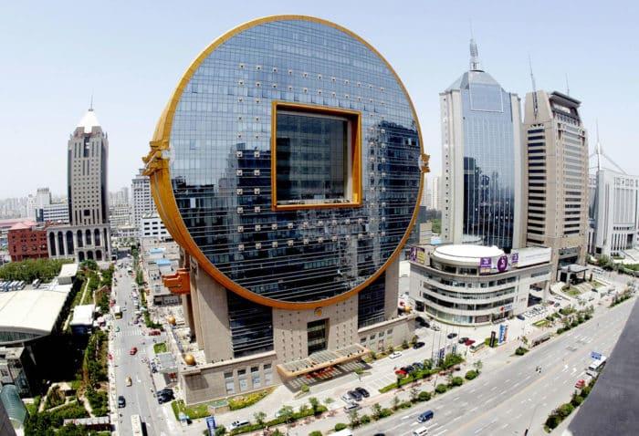 Необычное здание
