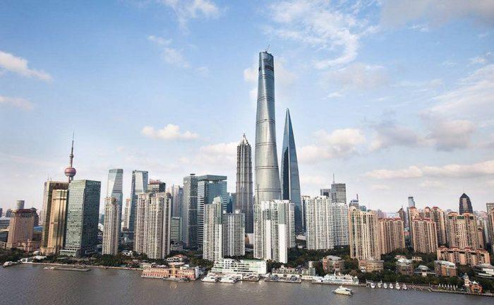 Самое высокое здание в Китае