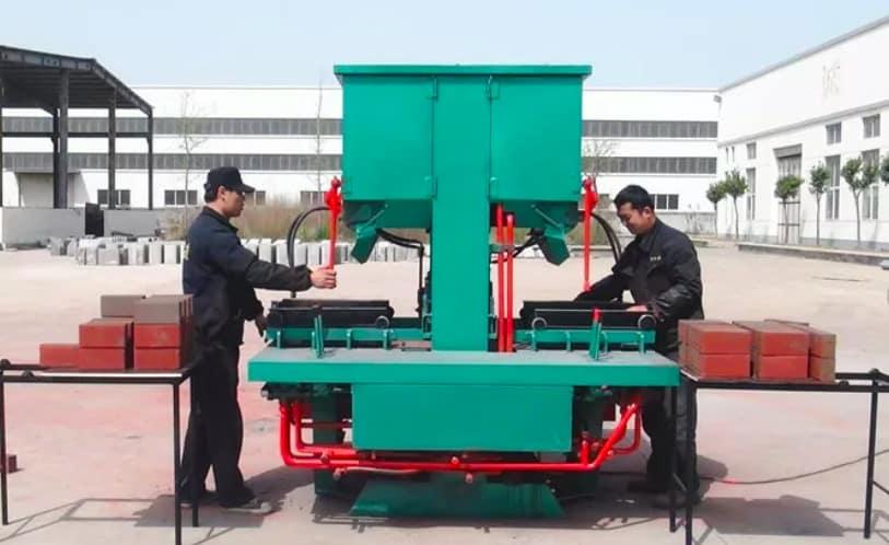 Мини-цех по изготовлению кирпича (Yufeng DMYF500)