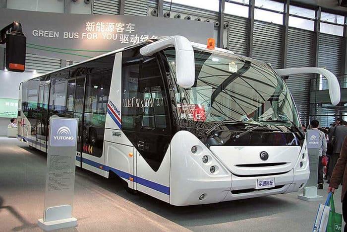 Список моделей китайских электробусов