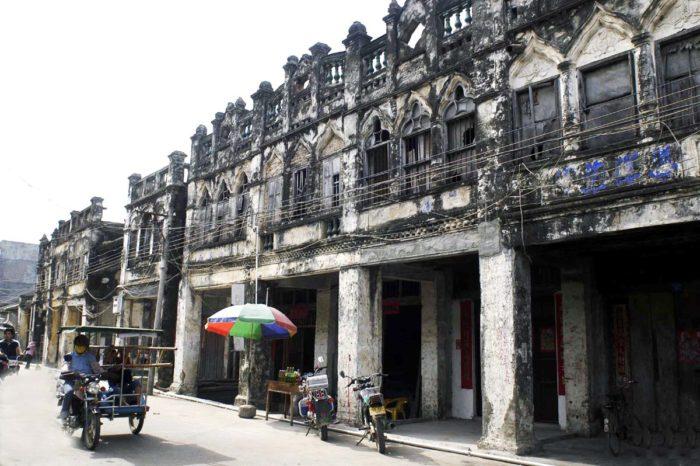 Старый город Ячжоу