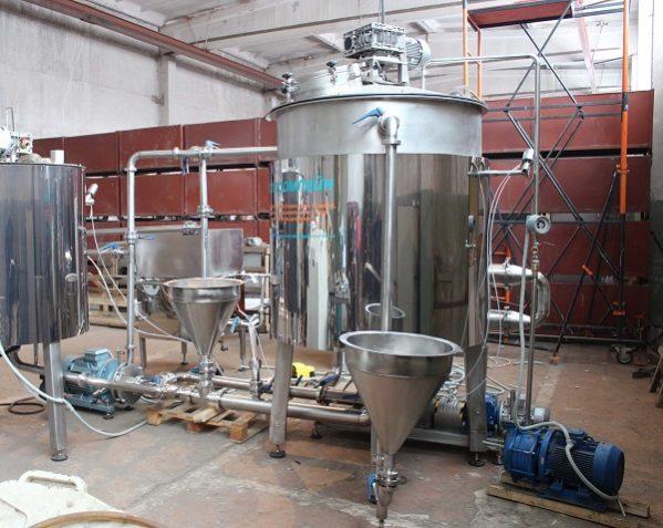 Технологическая линия по изготовлению продуктов из молока (GEONETconsult)