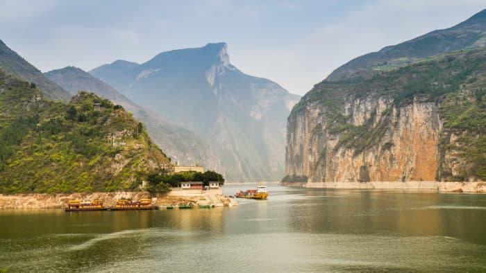 Три ущелья на реке Янцзы