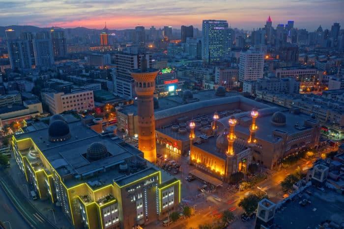 Урумчи город в Китае