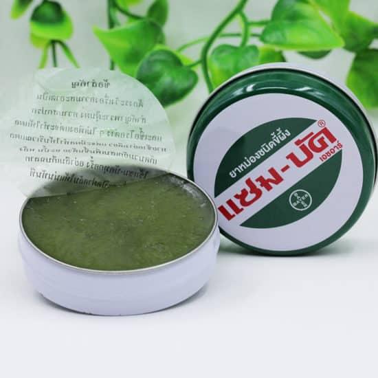 Зеленая китайская мазь