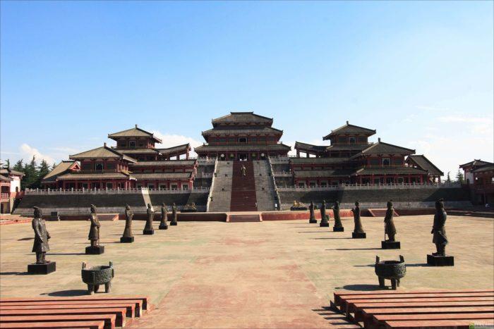 дворец Цинь Шихуанди
