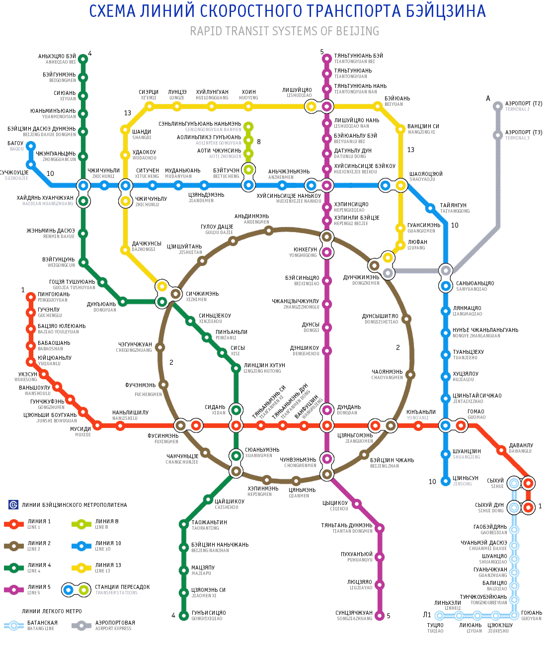 пекин метро