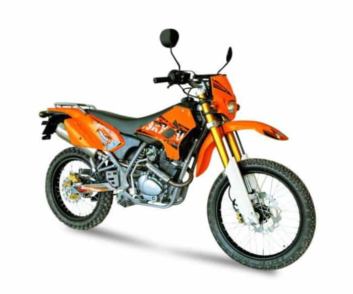 Китайские мотоциклы - обзор популярных моделей