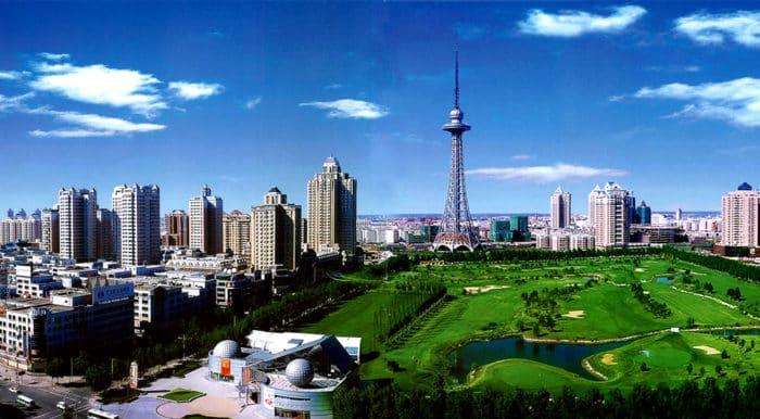 Харбин: аквапарк Посейдон
