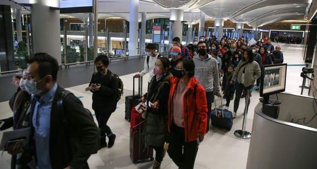 коронавирус туристы