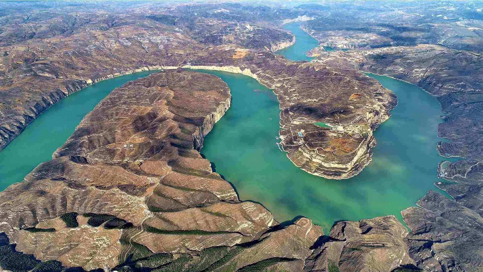 Река Хуанхэ Китай